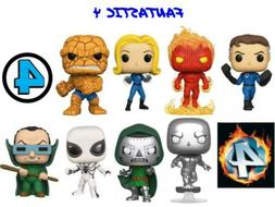 Funko Pop 24 Fantastic 4 Cupcake Toppers Birthday Party Cake