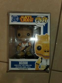 "Funko POP! Star Wars #35 ""Bossk"" 1st edition  Blue Box Vault"
