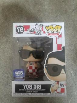 Funko Pop! Ad Icons Bob's Big Boy with Glasses 2nd Edition H