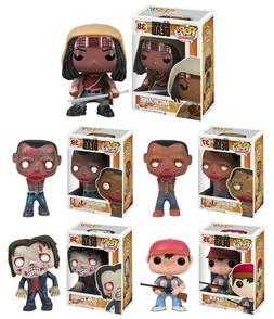 Funko POP! AMC's The Walking Dead Series 2, Complete Set of