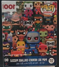 Funko POP!-- DC: Heroes Collage 100 piece jigsaw puzzle