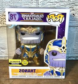 Funko Pop EE Exclusive Guardians of the Galaxy Thanos #78 Gl