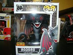 FUNKO POP GAME OF THRONES DROGON 6 INCH HOT TOPIC EXCLUSIVE