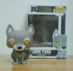Funko Pop! Game of Thrones Grey Wind #23 Vinyl Figure WITH H
