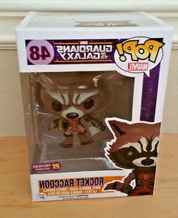 Funko Pop! Guardians of The Galaxy Rocket Raccoon Classic PX
