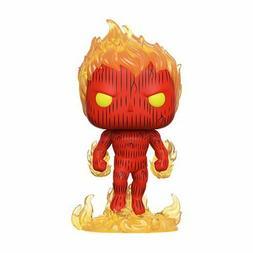 Funko Pop! Human Torch Fantastic Four 4 Johnny Marvel Comics