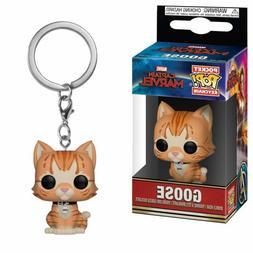 Funko Pop Keychain Marvel Captain Marvel - Goose The Cat Vin