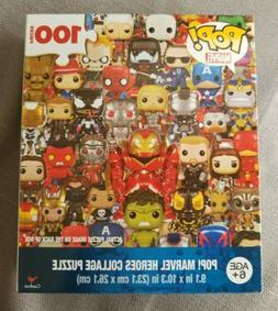 Funko Pop Marvel Heroes Collage Puzzle 100 Pcs