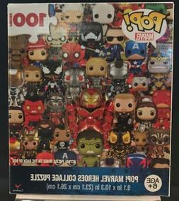 Funko Pop! Marvel Heroes Collage Puzzle 100 pieces