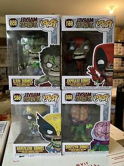 Funko Pop! Marvel: Zombies  Vinyl Figures