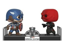 Funko Pop Movie Moments: Marvel- Captain America and Red Sku