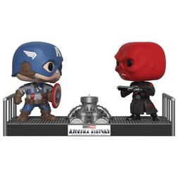 Funko POP! Movie Moments: Marvel - Red Skull vs Captain Amer