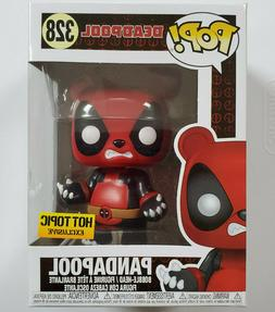 Funko Pop Pandapool Hot Topic Exclusive Deadpool Marvel #328
