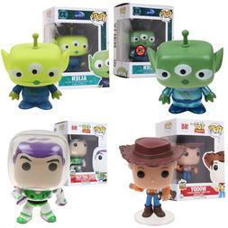 Funko Pop! Pixar Toy Story Alien Woody Buzz Lightyear Vinyl