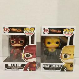 Funko Pop! Pop Lot of 2 The Flash & Reverse Flash Figures TV