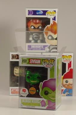"FUNKO POP! PROTECTORS FOR 4"" VINYLS - ACID FREE, CRYSTAL CLE"