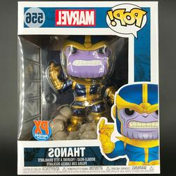 "Funko Pop! Thanos 6"" Snap PX Previews Marvel 80 Years Guardi"