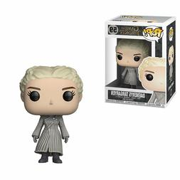Funko Pop TV Game of Thrones Daenerys White Coat Vinyl Actio