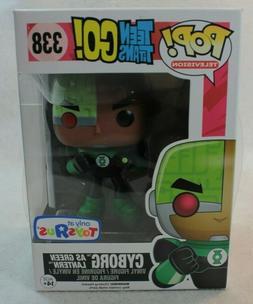 Funko Pop TV Toys R Us Exclusive CYBORG as Green Teen Titans