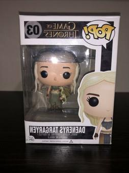 Game of Thrones Daenerys Targaryen Gold Dragon Funko Pop! Ba