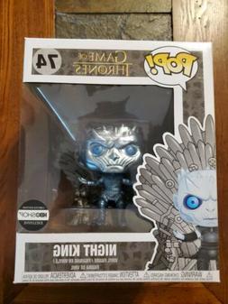 Funko Game of Thrones Metallic Night King on Throne #74 HBO