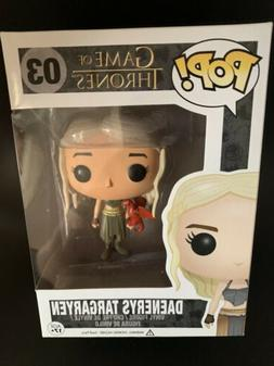 Game Of Thrones Funko Pop - Danaerys w/ Red Dragon
