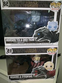 Game of thrones funko pop lot Dragon Lot!