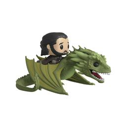 Funko Game Of Thrones POP Rides Jon Snow With Rhaegal Figure