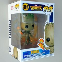 GROOT WITH STORMBREAKER Avengers Infinity War Funko Pop Bobb