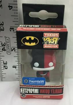 Harley Quinn Batman Imposter  Funko Pocket Pop Figure Keycha