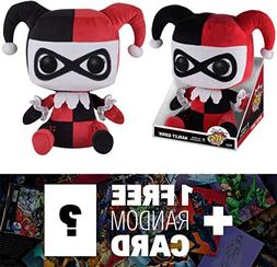 Harley Quinn: Funko Mega POP! Plush x DC Universe + 1 FREE O