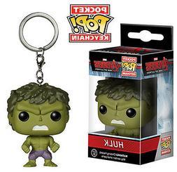 Hulk Marvel Avengers Age of Ultron Keychain Pocket Pop! Viny