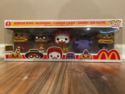 NOT MINT * Funko Pop Ad Icons 5-Pack McDonald's Exclusive Li