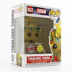 IN HAND! Funko POP! Marvel - Holiday Groot  Exclusive