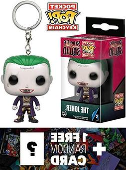 The Joker: Pocket POP! x Suicide Squad Mini-Figure Keychain