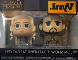 Funko Jon Snow Daenerys Targaryen Vynl.  Game of Thrones GOT