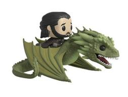 JON SNOW ON RHAEGAL DRAGON - Funko Pop Rides - Game Of Thron