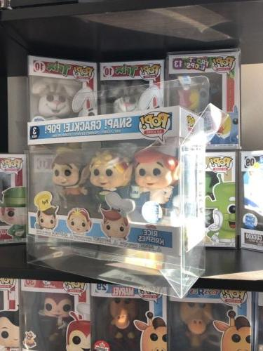 1 Funko Pop! 3-Pack Vinyl .50mm Thick Box Protector Acid Fre