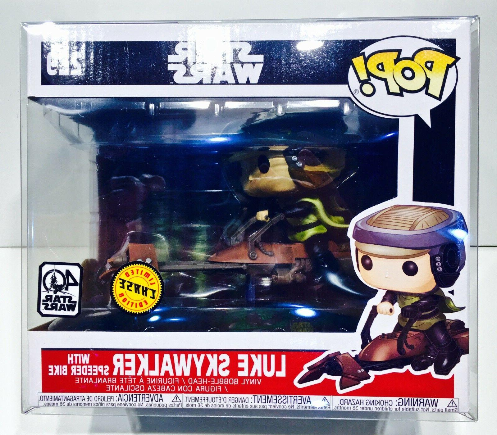 1 Protector For FUNKO SPEEDER BIKES Leia, and Trooper