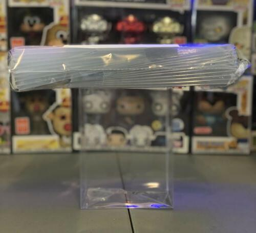 """10 POP! BOX PROTECTORS FOR 4"""" FIGURE .50mm Super Thick CLEAR CASES"""