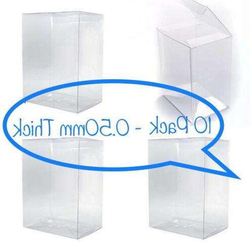 10 funko pop box protectors for 4
