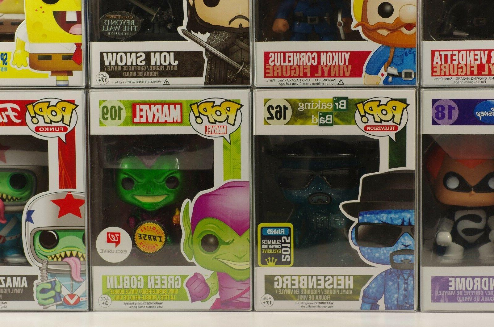 50 FUNKO FOR VINYLS ACID-FREE, CRYSTAL PERFECT FIT!