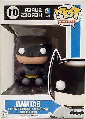 "BATMAN DC Comics Super Heroes Pop Heroes 4"" inch Vinyl Figur"