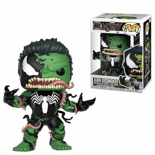 FUNKO Pop Marvel VENOMIZED HULK #366 4in Vinyl Bobble-Head F
