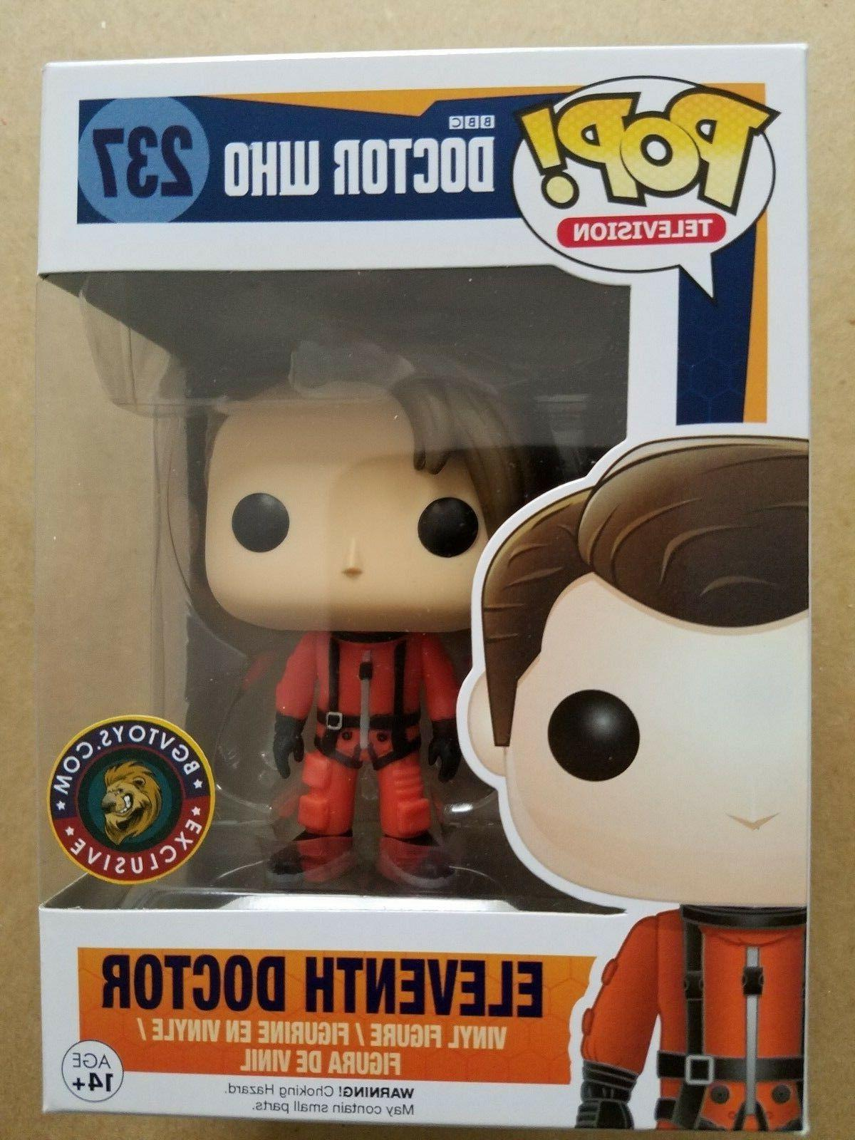 Funko POP! Doctor Who BGV #237 EXCLUSIVE Spacesuit Eleventh