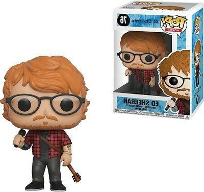 Funko POP! Rocks Ed Sheeran Vinyl Figure #76