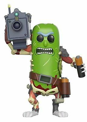 Funko Pop Animation Morty-Pickle Rick with Laser Collectible