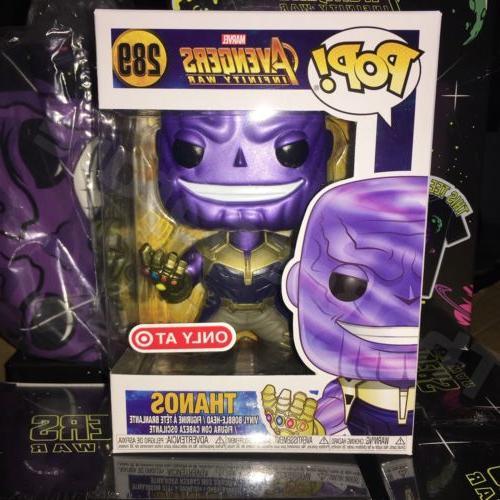 Funko Pop! Avengers Infinity War Thanos Target Exclusive T S