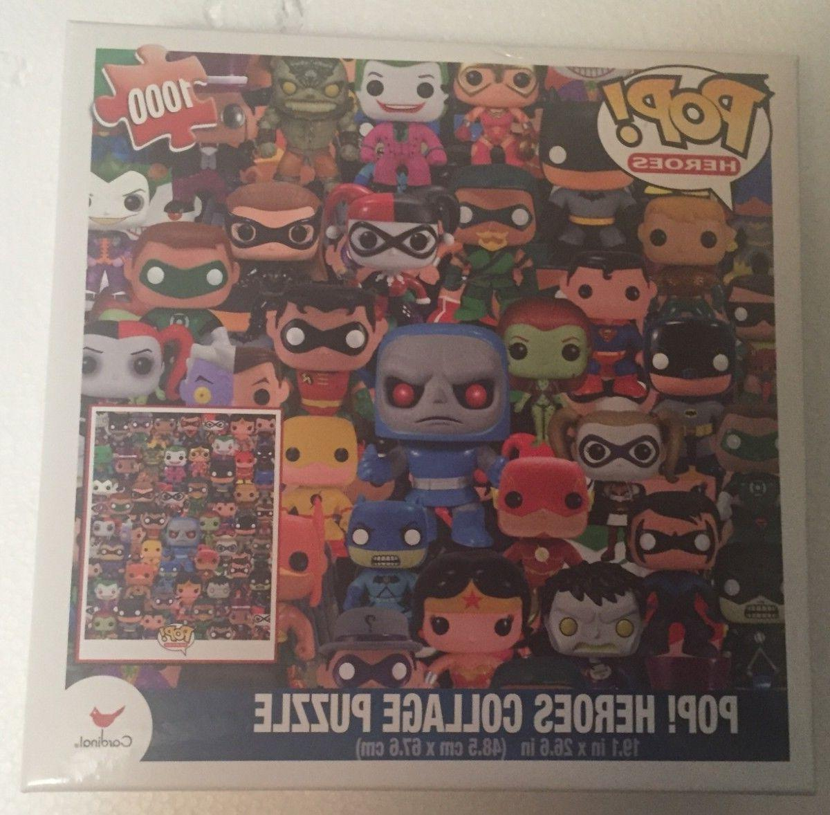 Funko Pop! DC Heroes Collage Puzzle - Brand New - 1,000 Piec