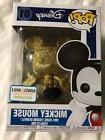 Funko Pop! Disney: Mickey Mouse #01 Gold Diamond Collection